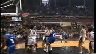 1993 Mangiaebevi Fortitudo Bologna vs Hyundai Desio r.s. (last 5 min.)