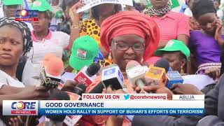 WOMEN HOLD RALLY IN SUPPORT OF BUHARI'S EFFORTS ON TERRORISM