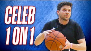 Celebrity Jerry Ferrara Trains For NBA All-Star Game 2018