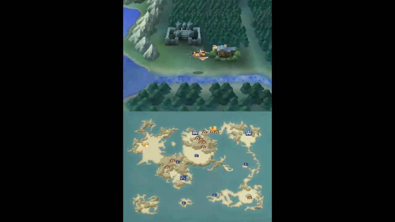 Let\'s Play Final Fantasy IV DS #34 Mythril