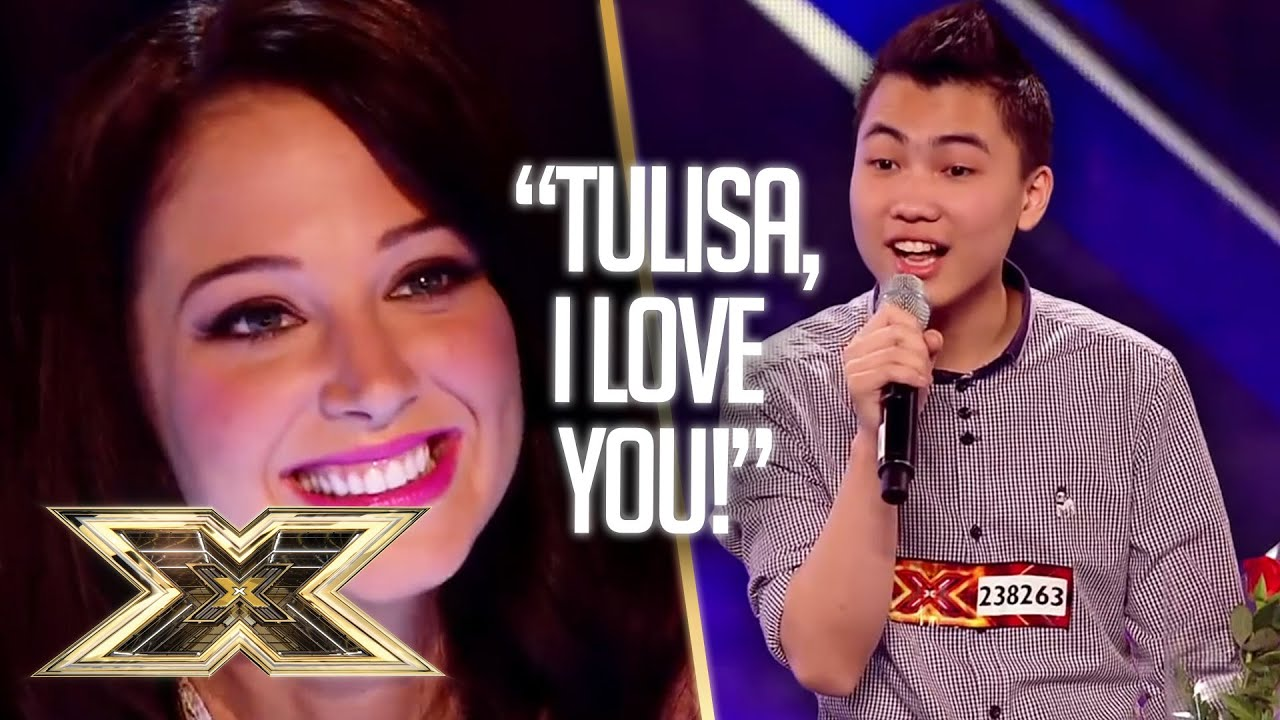 JASON VIET TIEN blows everyone away and woos Tulisa with WHITNEY HOUSTON COVER! | The X Factor UK
