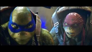 Черепашки-ниндзя 2 Русский трейлер 2016 Teenage Mutant Ninja Turtles: Out of the Shadows