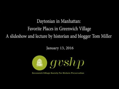 Daytonian in Manhattan: Favorite Places in Greenwich Village