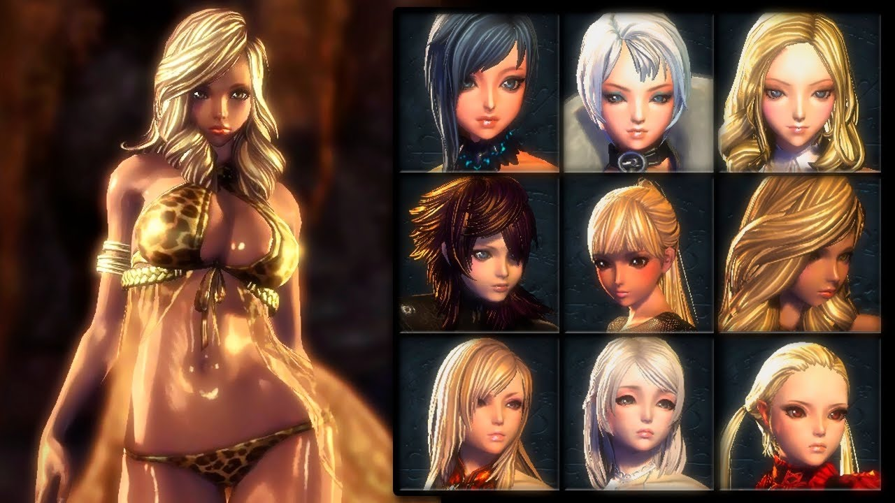 blade soul character creation youtube