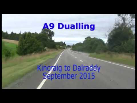 A9 Dualling: Kincraig to Dalraddy