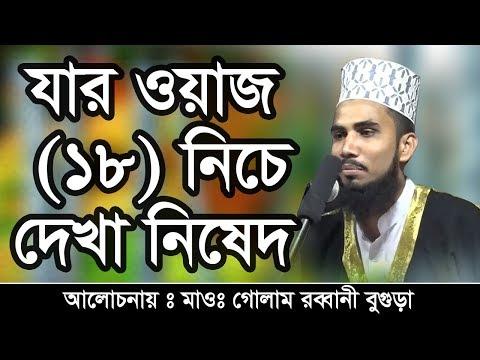 Bangla Waz Maulana Golam Rabbani যার ওয়াজ (18) নিচে দেখা নিষেদ