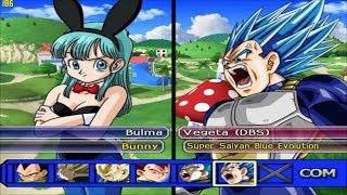 Bulma Bunny VS Vegeta Super Saiyan Blue Evolution and Future Mai - DBZ Tenkaichi 3 (MOD)