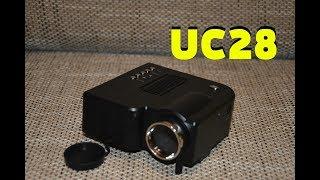 uC28 Проектор Projector Распаковка Обзор