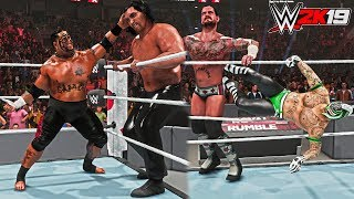 WWE 2K19 Removed Moves Added Back #2 (Royal Rumble Finishers: 619, GTS, Pedigree) & More - PC Mods