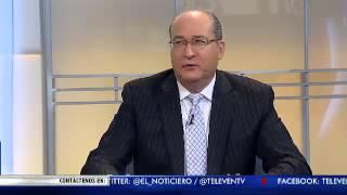 La Entrevista El Noticiero Televen - Primera Emisión - Viernes 29-07-2016