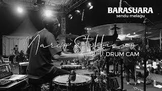 Marco Steffiano Drum Cam | Barasuara - Sendu Melagu