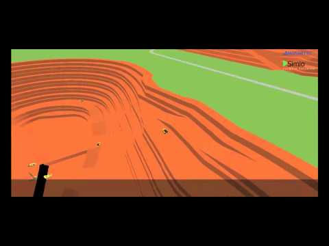 Open-pit Mining Simulation by MOSIMTEC