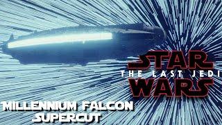 The Last Jedi: Millennium Falcon Supercut