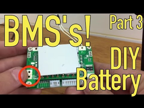 DIY Lithium Battery - BMS Wiring - Part 3/5