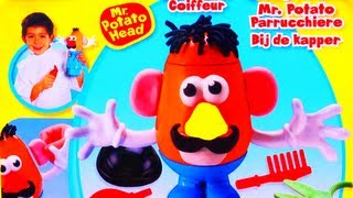 Play Doh Mr Potato Head Make Funny Faces Grow Hair Disney Play-Doh Pixar Toy Story & Cookie Monster