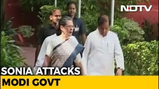Sonia Gandhi Accuses PM Modi Of Trying To Destroy 'Essence Of India'