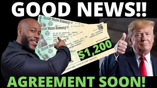 $1200 GOOD NEWS!! Second Stimulus Check Update + STIMULUS PACKAGE