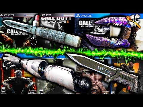 One Kill With EVERY Melee Weapon In EVERY CoD