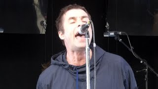 Liam Gallagher Wall Of Glass Live At Les Ardentes Liege 09 07 2017