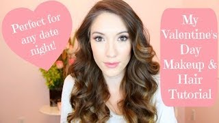 ♡ My Valentine's Day Hair & Makeup! ♡ | Blair Fowler Thumbnail