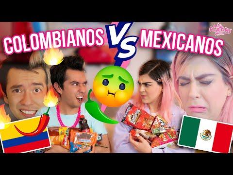 ¿QUÉ DULCES SON MEJORES? | COLOMBIANOS VS MEXICANOS | AMI ROODRÍGUEZ - Mis Pastelitos