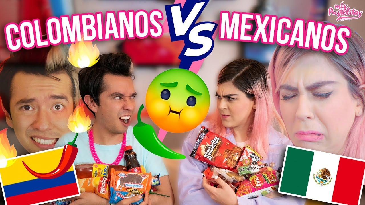 ¿QUÉ DULCES SON MEJORES? | COLOMBIANOS VS MEXICANOS | AMI ROODRÍGUEZ