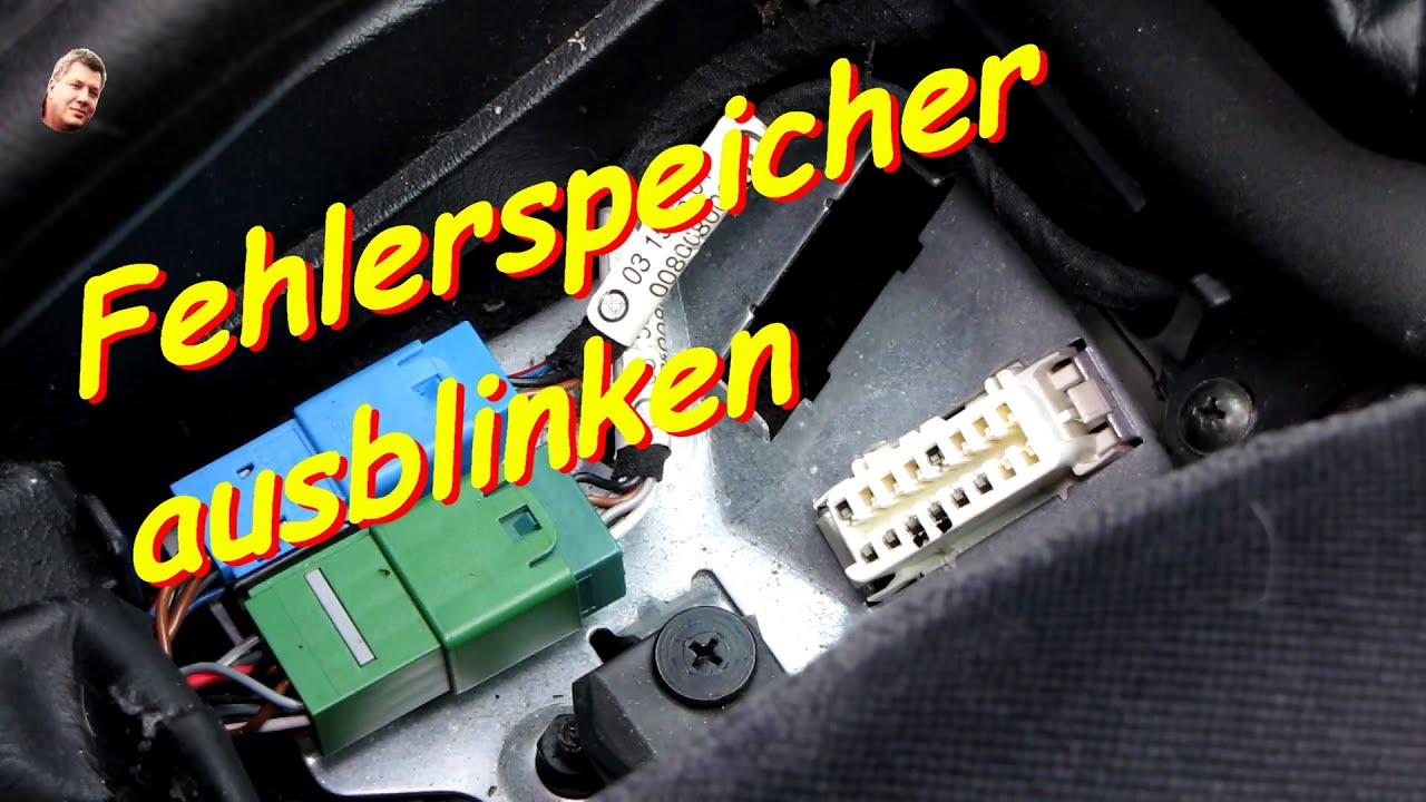 opel vectra b fehlerspeicher ausblinken - youtube
