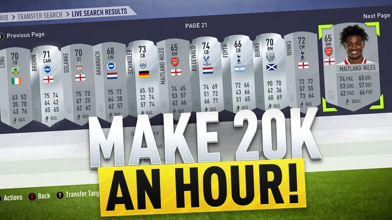 FUT17 trading players to buy and sell - fifaaddiction com