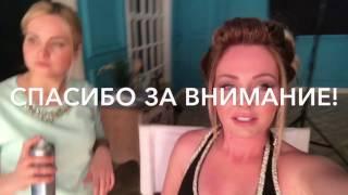 Дарья Пынзарь и Виктория Романец в красивых вечерних и свадебных платьях)