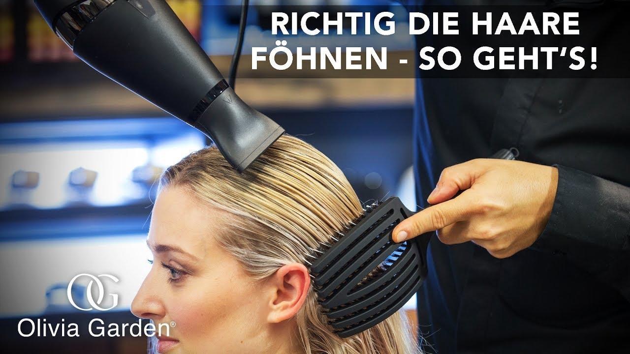 Lange haare richtig frisieren