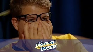 The Biggest Loser || Jackson and Gina React to Their Journeys