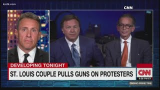 Central West End Man Who Pointed Guns At Protesters Tells Cnn His Life Has Been Ruined