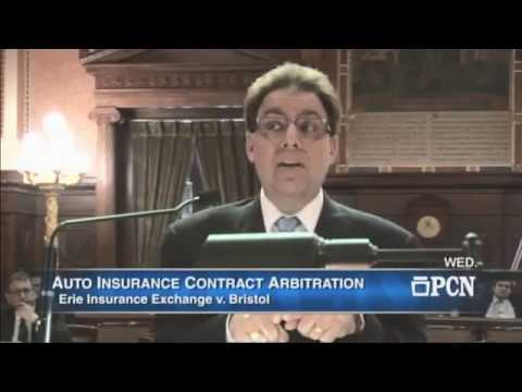Pa. Supreme Court Oral Argument - Bristol v Erie Insurance - May 10, 2017
