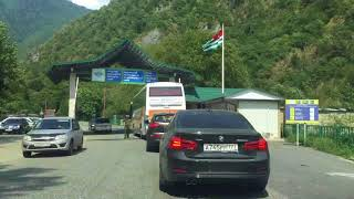 Путь на озеро Рица за 120 секунд. Абхазия