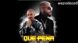 Baixar Qué Pena - Maluma ft J Balvin