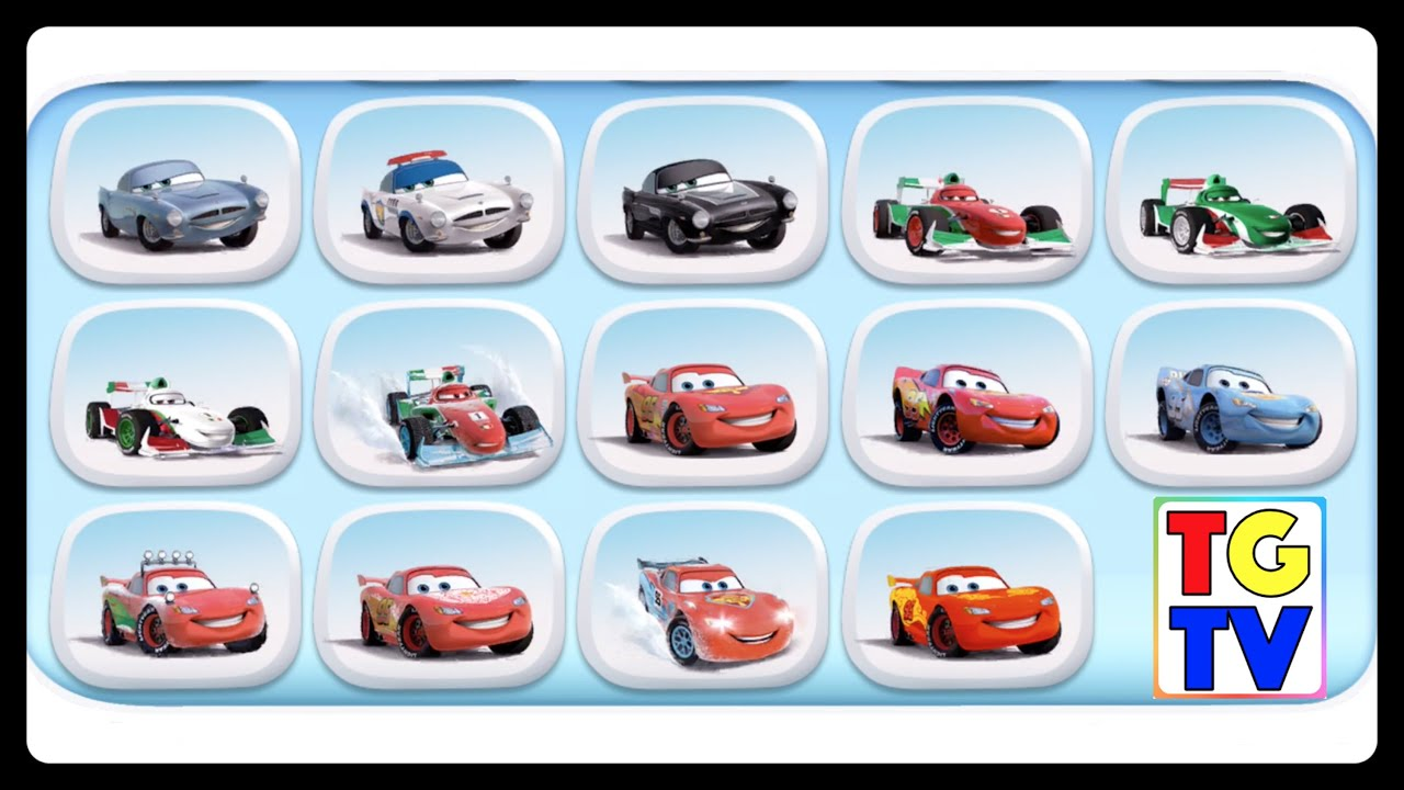 Cars Fast As Lightning Mcqueen Paint Jobs