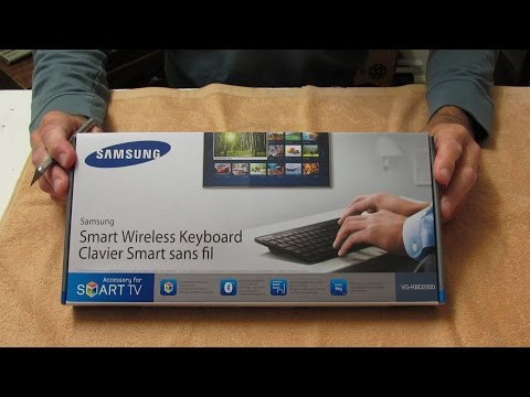 Samsung Wireless Keyboard Model VG-KBD2000 - Unboxing and Quick View