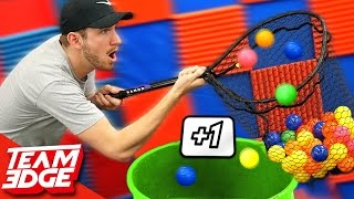 Fishnet Ball Catching Challenge!!
