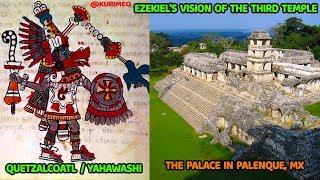 Pt. 9 - Hebrew Aboriginals of America // Popol Vuh - Genesis / Palenque -Temple of Solomon