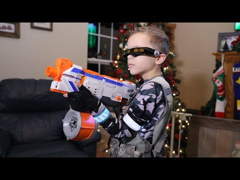 Nerf War : Omni Squad 3 (Save SuperHeroKids)