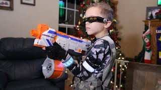 Nerf War:  Omni Squad 3 (Save SuperHeroKids)