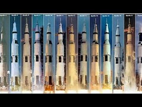 All Apollo Saturn V launches  ( Apollo 6 to Skylab 1)