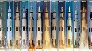 All Apollo Saturn V launches  ( Apollo 4 to Skylab 1)