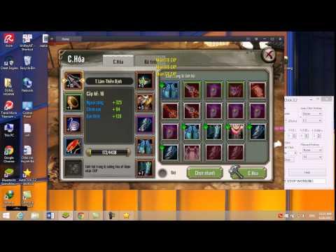 Hướng Dẫn Sử Dụng Auto Click Game TLBB3D MoBile Trên PC