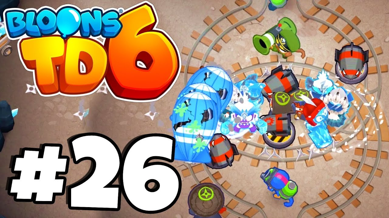 *NEW* Tier 5 Super Brittle ICE MONKEY Is OP?! - Bloons Tower Defense 6 Part  26 (BTD 6 IOS/Android)