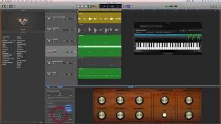 GarageBand Eğitimi: Özel AU Sampler aleti kullanarak davul örnekleri
