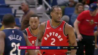 Toronto Raptors vs New Orleans Pelicans | March 8, 2019