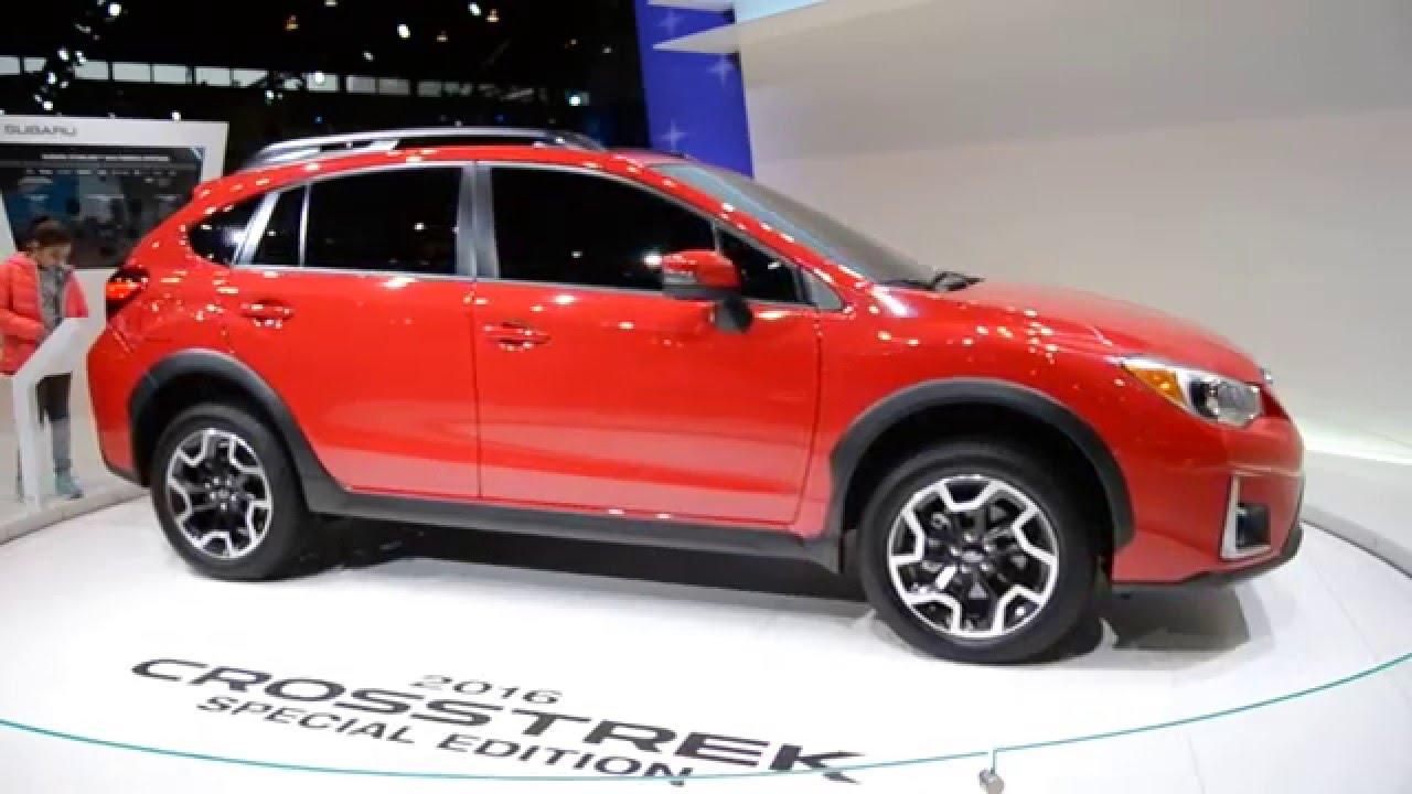 New Subaru Crosstrek Chicago Auto Show At McCormick Place - Mccormick place car show