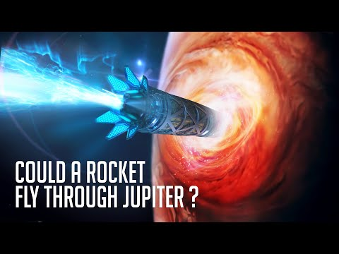 Could A Rocket Fly Through Jupiter Since It's A Gas Giant?