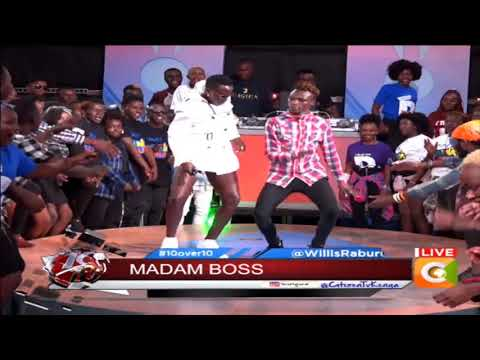 Akothee 'Madam Boss' Live #10Over10